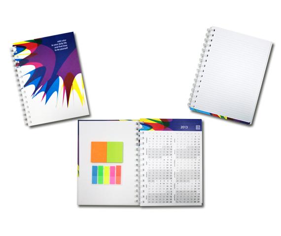 Рабочая тетрадь с календарем
