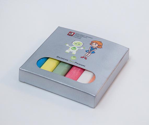 Цветные мелки для рисования